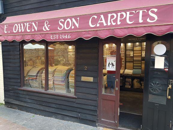 E Owen and Son banner
