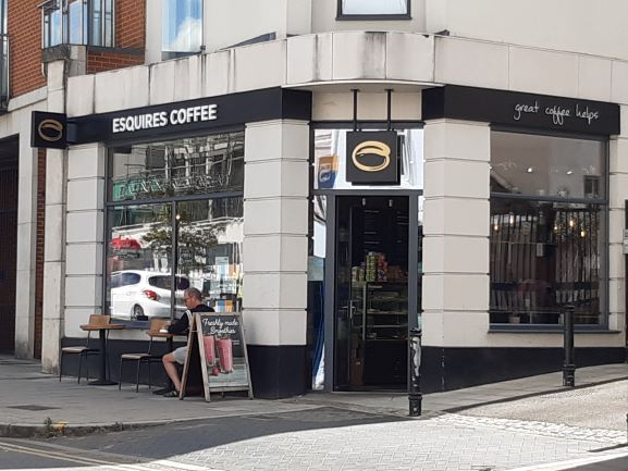 Esquires Coffee banner