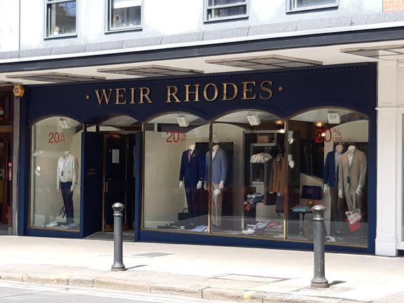 Weir rhodes banner