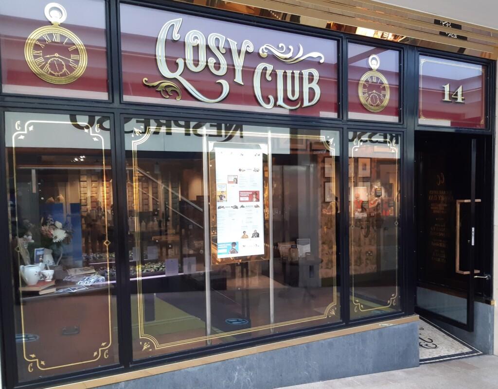 Cosy Club banner