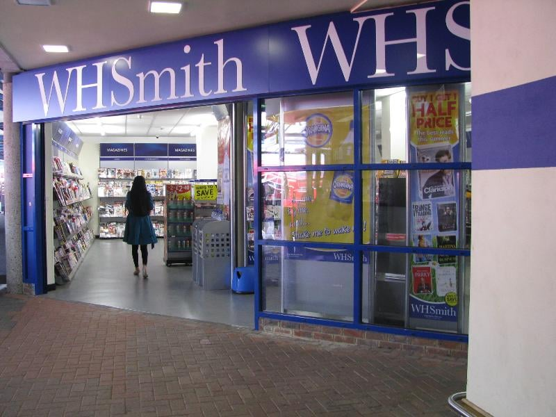 wh smith station