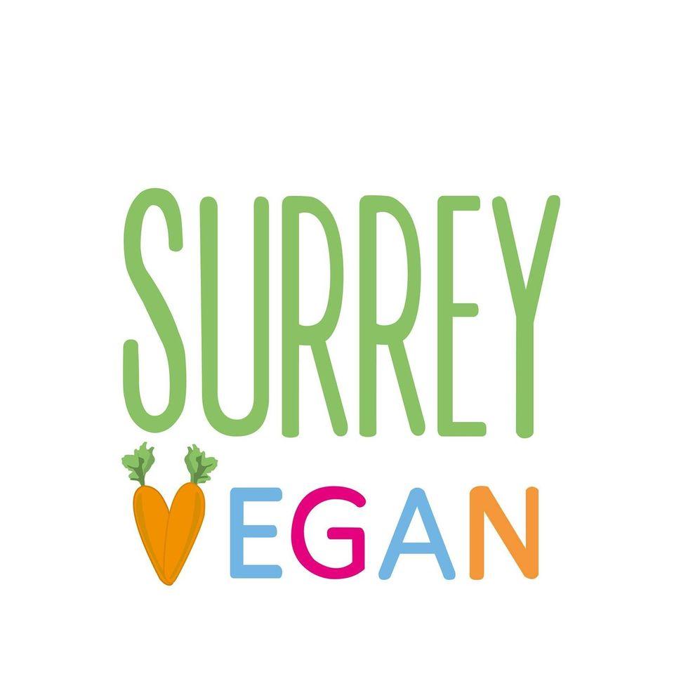 surrey vegan logo