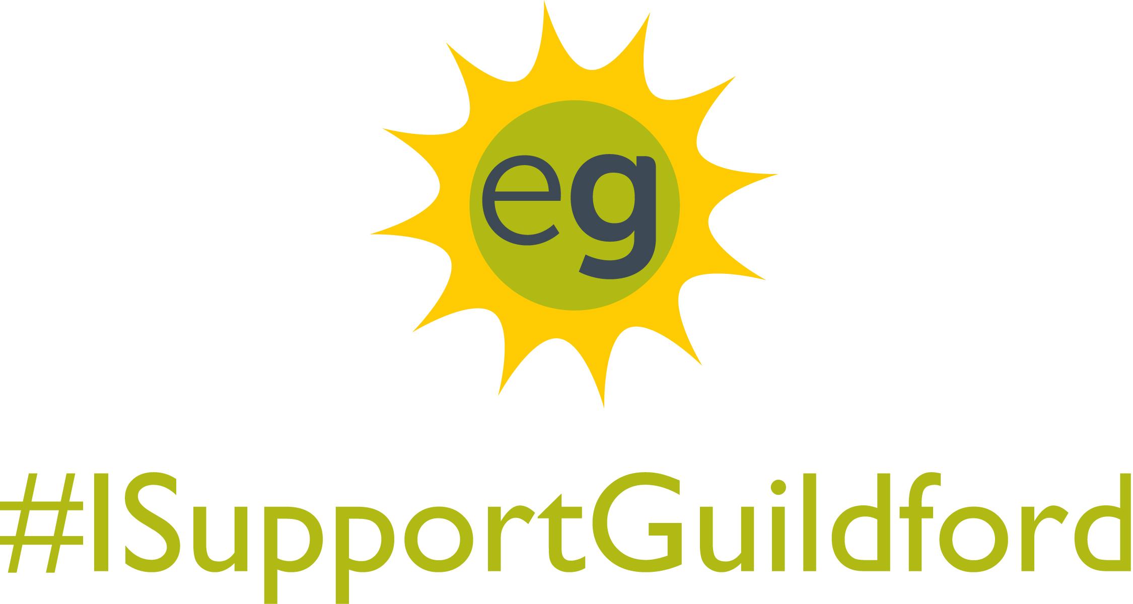 I support logo