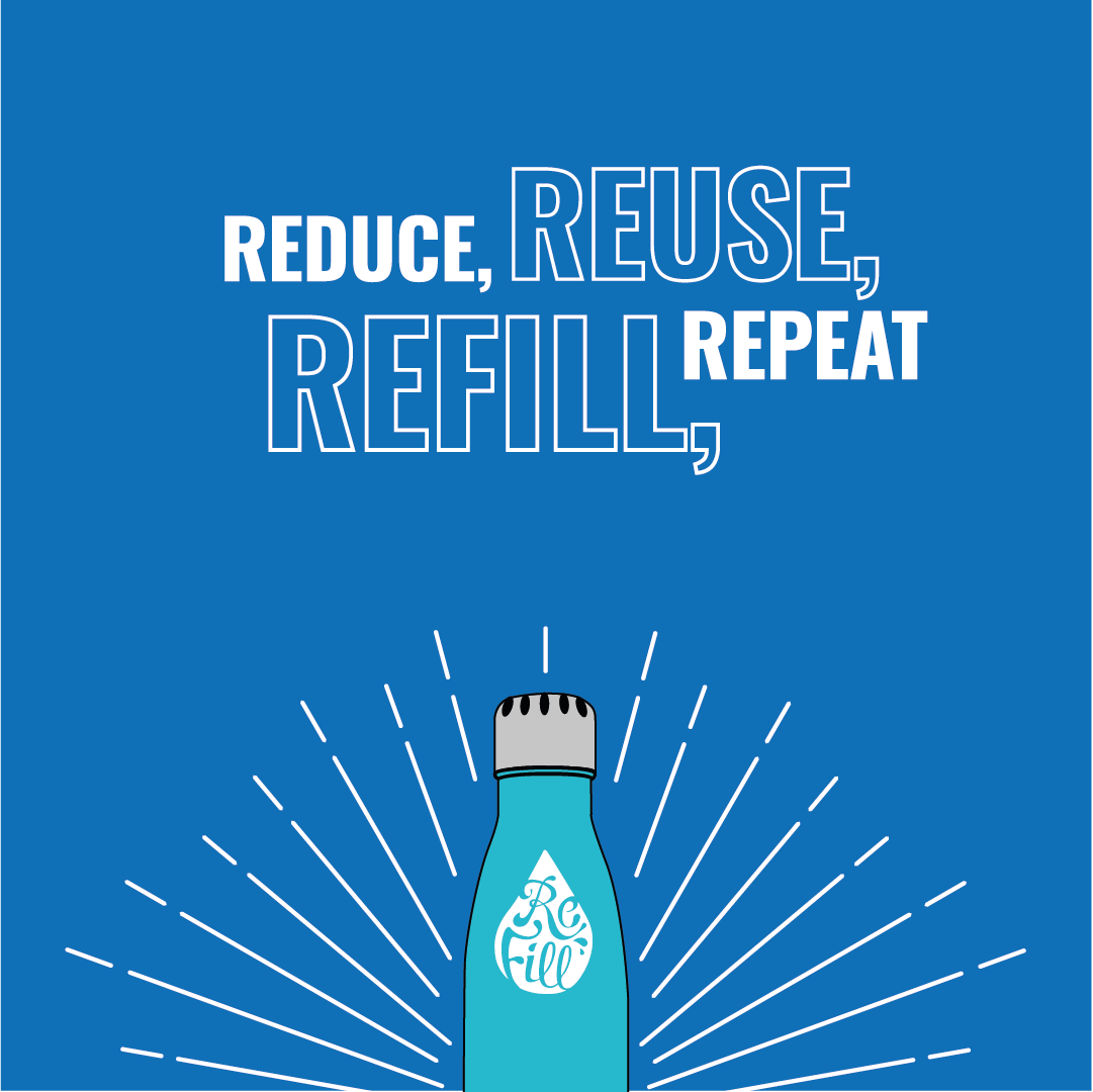 Refill Reuse Bottle