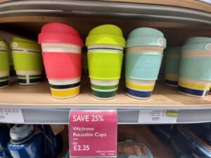 waitrose reusable cups