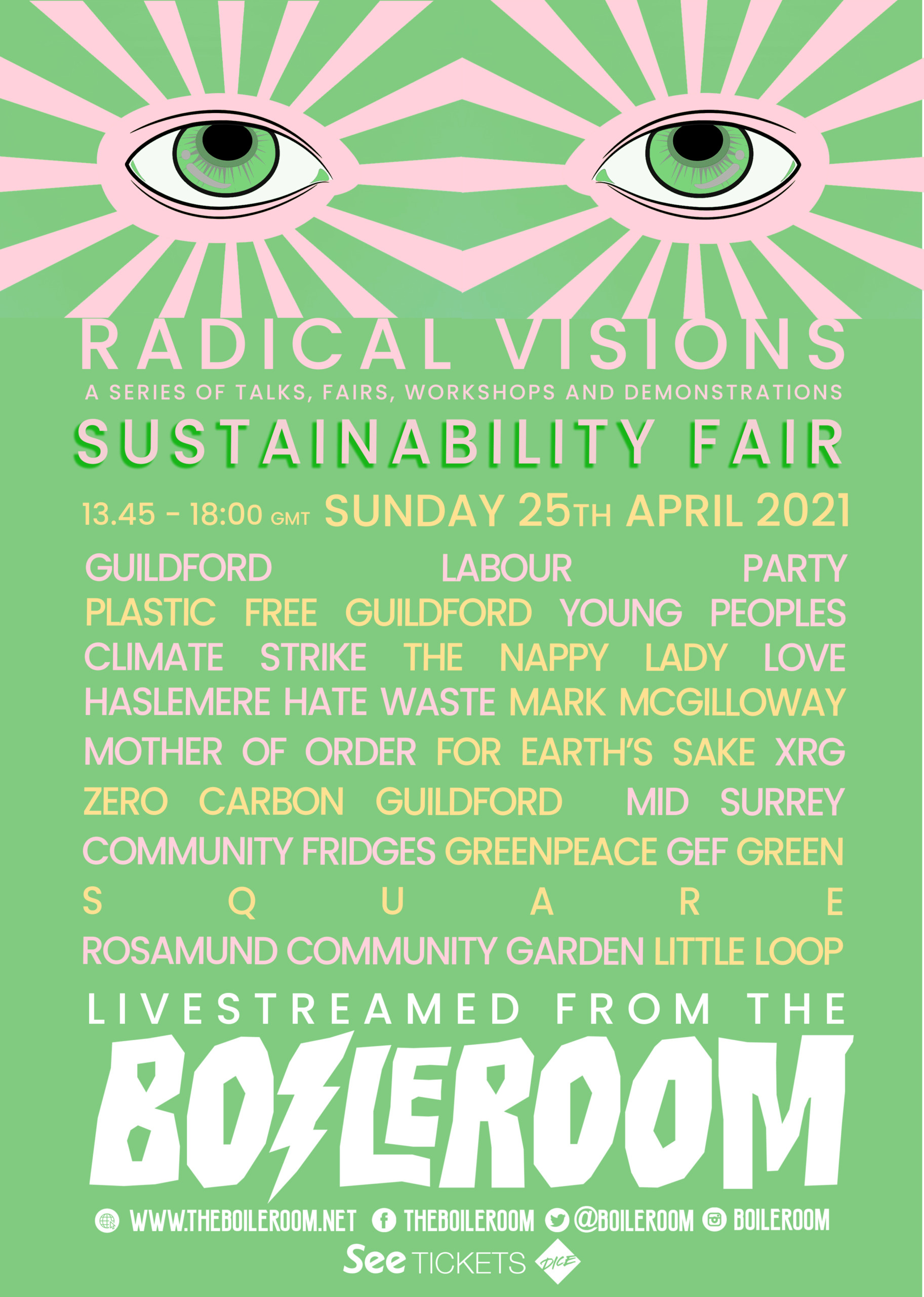 Sustainability Fair- The Boileroom