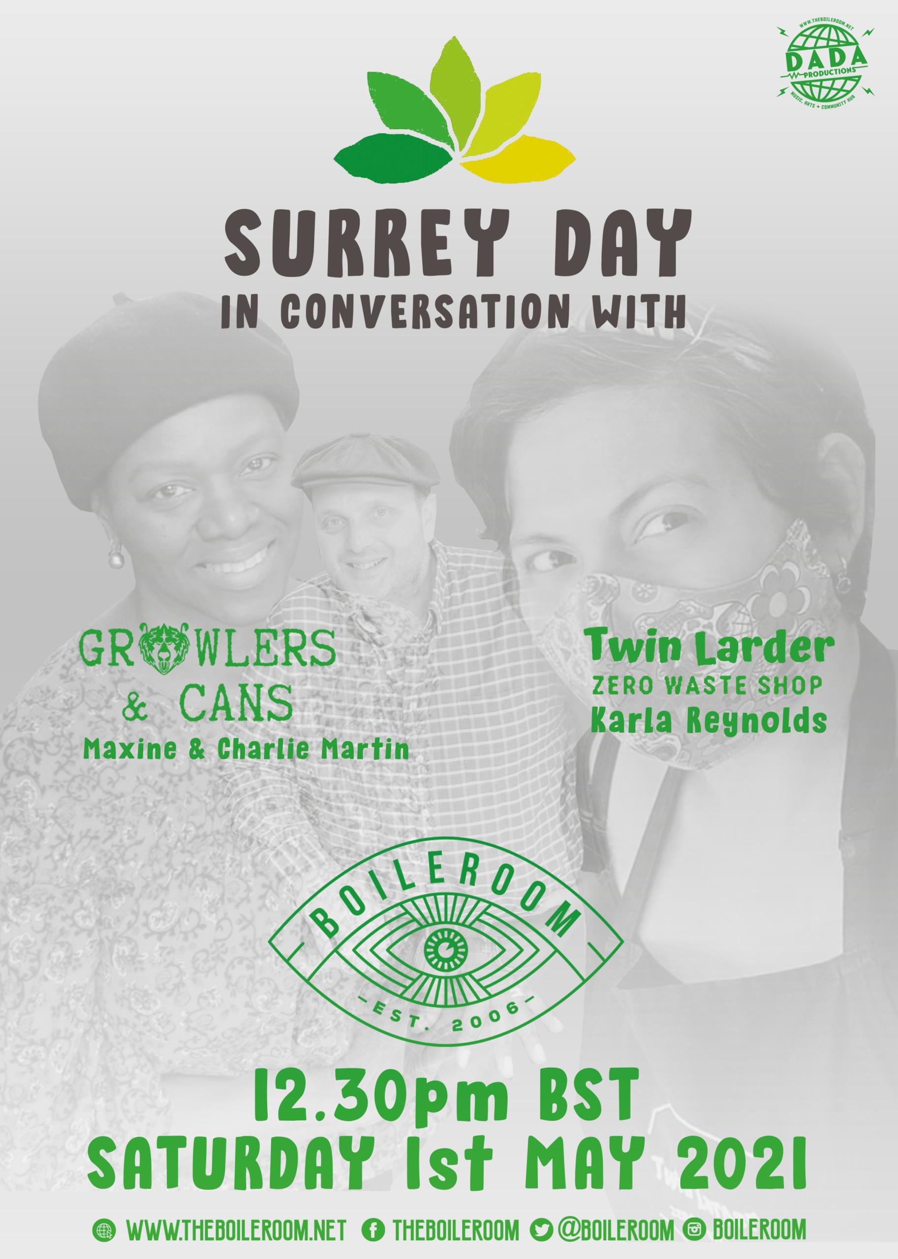 Boileroom Surrey Day