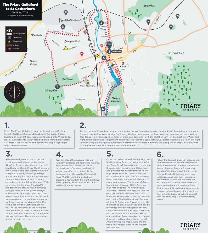 Friary Map