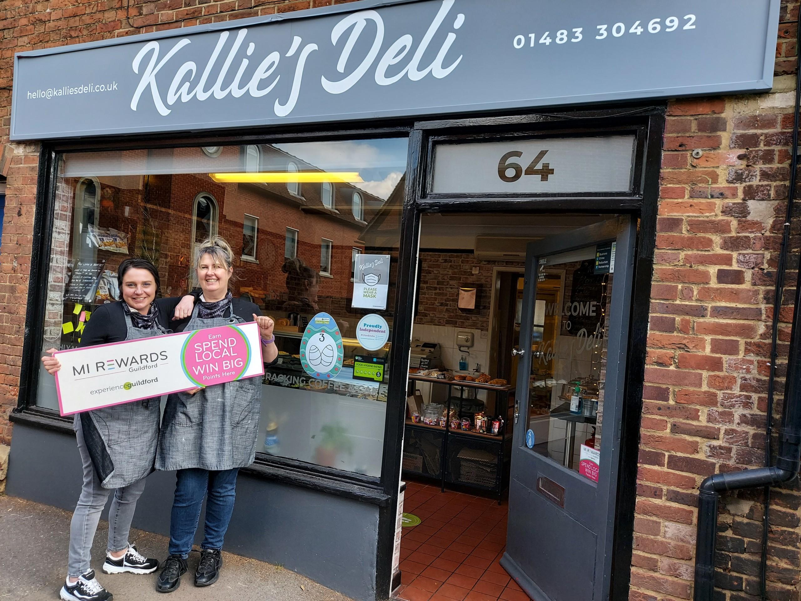 Kallie's Deli Mi Rewards
